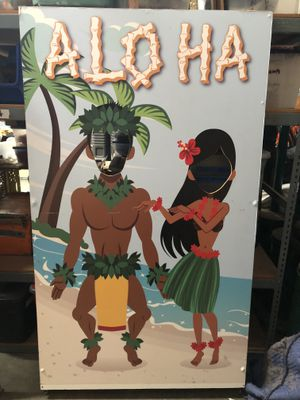 Hawaiian Themed Photo Booth Frame Prop for Sale in Chino, CA