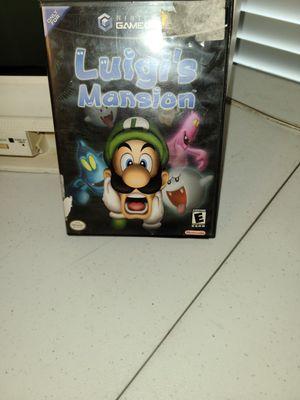 Luigi mansion gc for Sale in Houston, TX