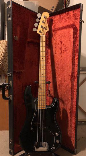 1977 fender black guitar for Sale in Houston, TX