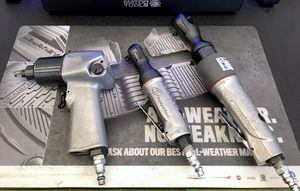 """Ingersoll Impact Ratchets (1/4"""" & 3/8"""") & Bluepoint 3/8"""" impact gun for Sale in Lutz, FL"""