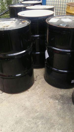 55 gallon metal burn barrels for sale for Sale in Detroit, MI