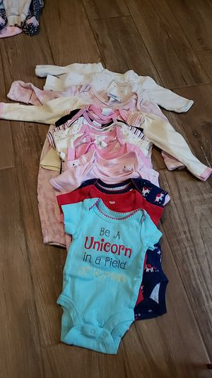 Newborn baby girl cloths for Sale in Tarpon Springs, FL
