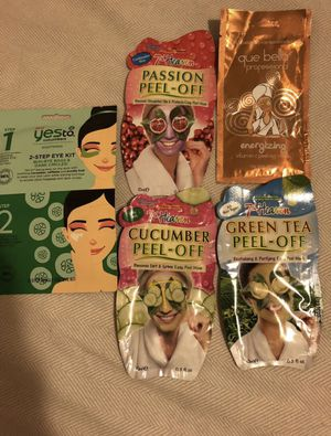 Face Mask Bundle - 7th Heaven- Yes To - Que Bella Professional for Sale in Salinas, CA