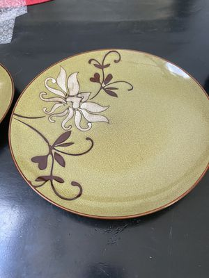 Dinner set/stoneware (27 pieces!) for Sale in Long Beach, CA