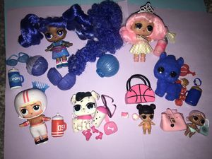 Lol Dolls lot of 7 for Sale in Portland, OR