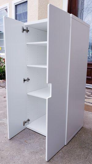 $140-FINAL! NEW Ikea 2 Door SOFT CLOSED 4 Tier Storage Organizer Clothes Closet Wardrobe Stand Unit Pantry Kitchen Bath Bathroom Multi-Purpose Cabinet for Sale in Monterey Park, CA