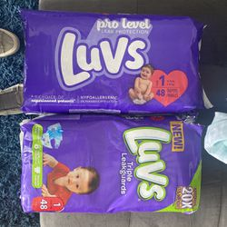 Diapers Size 1 for Sale in San Angelo,  TX