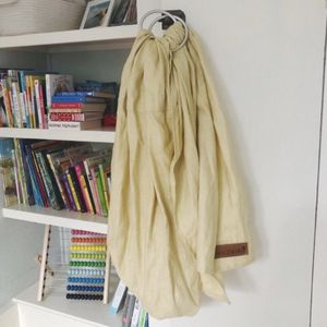 Widbird Ring Sling - Single Layer 100% Linen In Duckling for Sale in Carrollton, TX