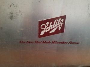 schlitz vinatge cooler for Sale in Salem, WI