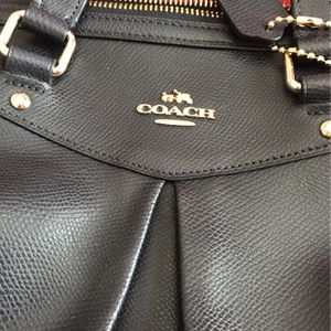 Coach Bag Leather Gray for Sale in Nashville, TN