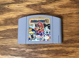 Mario Party 3 for Nintendo 64 video game console system n64 cartridge super bros brothers three for Sale in Cleveland, OH