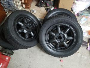 """Mazda miata 15"""" rims & tires for Sale in Tampa, FL"""