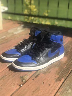 """Jordan 1 """"Royal Blue"""" 2001 Vintage, size 14 for Sale in Toney, AL"""