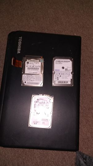 Toshiba laptop plus hard drives for Sale in Hayward, CA
