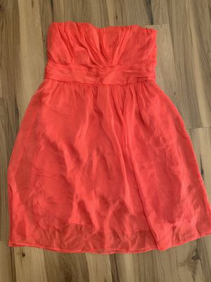 Size 10 the limited coral homecoming/wedding party/prom dress strapless for Sale in Painesville, OH