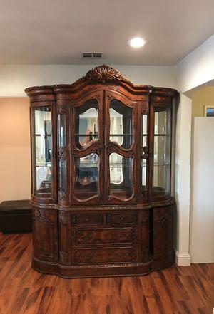 Antique China hutch for Sale in Fowler, CA