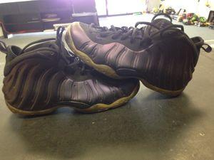 105f53557cf09 Nike eggplant foamposite men s size 11 Nike shoes basketball for Sale in  Ocala