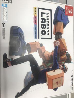 New sealed Nintendo switch LABO ROBÓ KIT for Sale in Denver, CO
