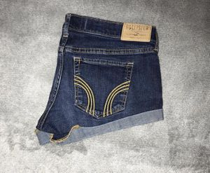 hollister shorts size 3s low rise for Sale in Stockton, CA