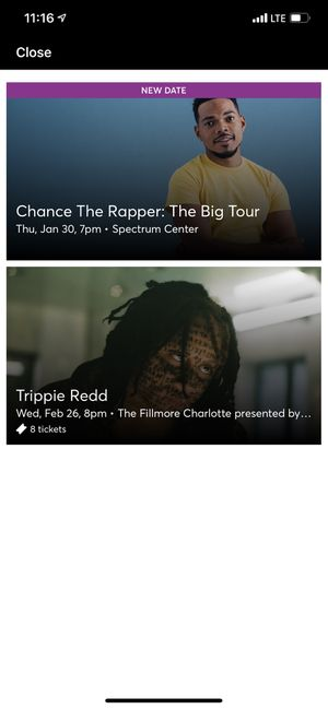 TRIPPIE REDD TOUR TICKETS (CHARLOTTE, NC) for Sale in High Point, NC