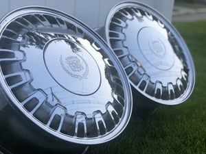 CADILLAC - DeVille CHROME RIMS (6 rims are available) for Sale in Woodbridge Township, NJ