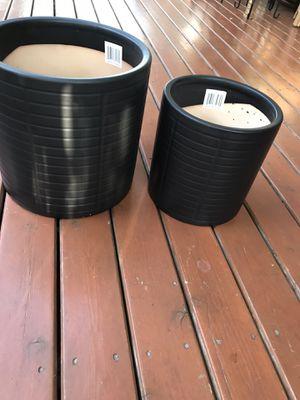 2 ceramic pot new for Sale in Auburn, WA