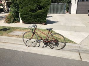 Genuine RALEIGH bicycle everything works needs expert refurbishing make offer starting from $300.00 Dollars for Sale in Cerritos, CA