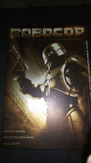 RoboCop 2 discs in metal box for Sale in Sprouses Corner, VA