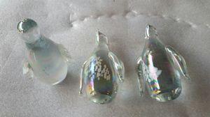 3 crystal penguins for Sale in Grosse Pointe Park, MI