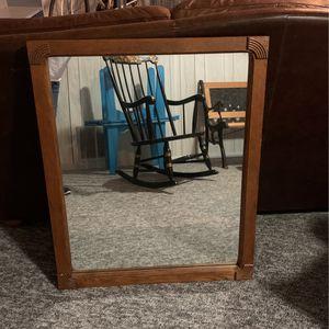 Solid Wood Mirror for Sale in Reston, VA