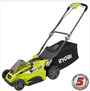 RYOBI 16 in. 40-Volt Lithium-Ion Cordless Battery Walk Behind Push Lawn Mower - Battery/Charger Not Included Home and Garden TX for Sale in Houston, TX