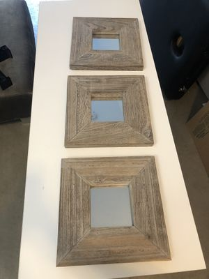 Decorative wall mirrors for Sale in Denver, CO