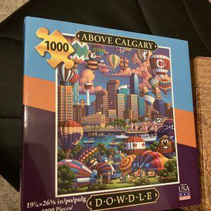 1000 Piece Puzzle for Sale in Deer Park, IL