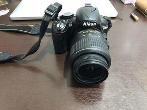 Nikon D3100 DSLR Camera broken flash for Sale in Tustin, CA