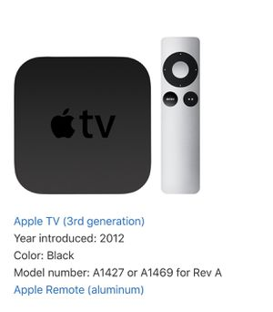 Apple TV 3rd generation for Sale in Houston, TX