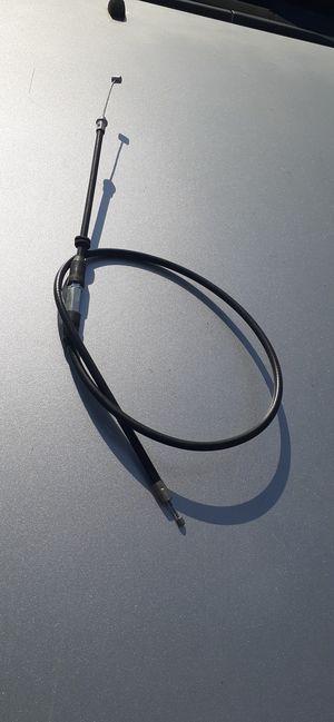 Motorcycle 4 wheeler four wheeler Atv cuatrimoto throttle cables for Sale in Dallas, TX