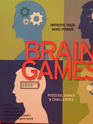 $5 NEW BRAIN GAMES -puzzles, games, & challenges for Sale in Garden Grove, CA