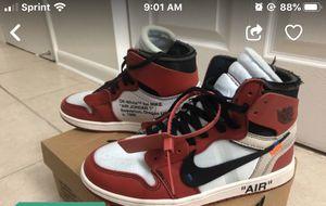 Off white Jordan 1 Chicago for Sale in Lauderhill, FL