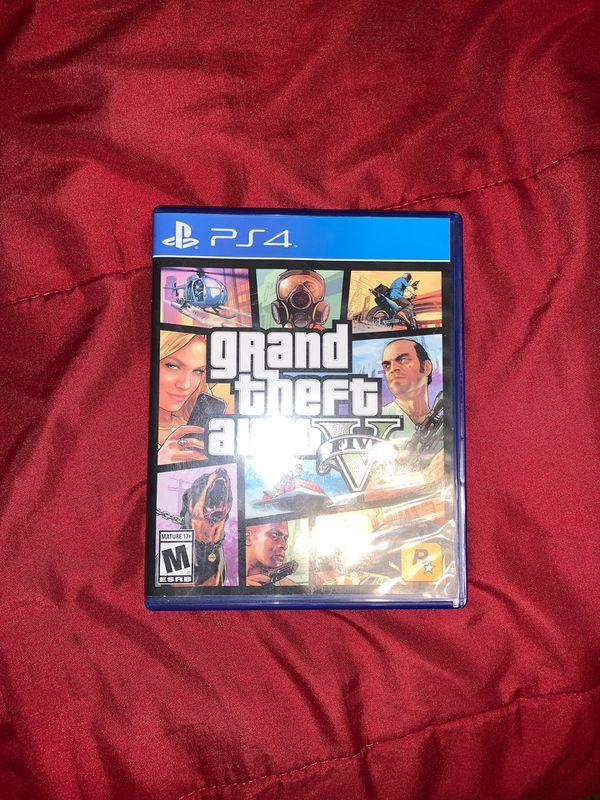 GTA V for PS4