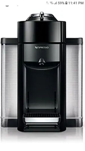 Nespresso vertuo delongi coffee maker with milk frother. for Sale in Niagara Falls, NY
