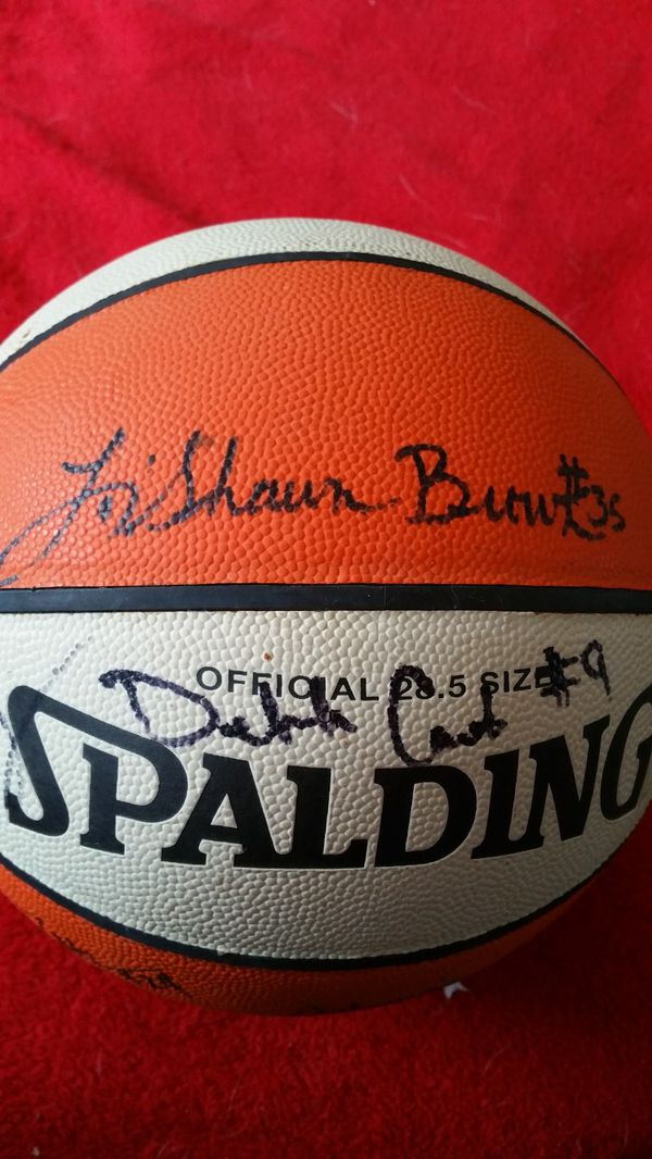 1998 Signed WNBA Washington Mystics Basketball