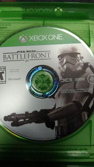X box one games Call of Duty Advanced Warfare, Star Wars Battlefront, and Tomb Raider definitive edition for Sale in St. Louis, MO