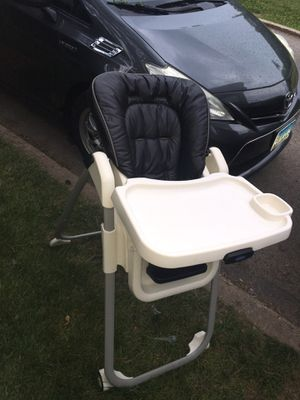 Leather Baby high chair for Sale in Buffalo Grove, IL