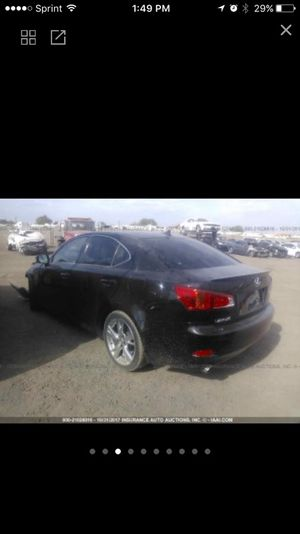 2009 Lexus IS Parts Only for Sale in Phoenix, AZ