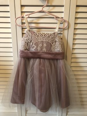 Flower Girl Dress Size 4T for Sale in Cumming, GA