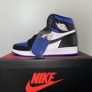 """Air Jordan 1 """"royal toe"""" for Sale in Annandale, VA"""