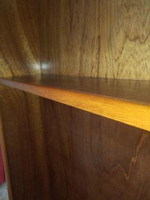 Custom-made mahogany bookshelves for Sale in San Diego, CA
