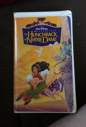 Disney. The Hunchback of Notre Dame. VHS tape for Sale in Montgomery, AL