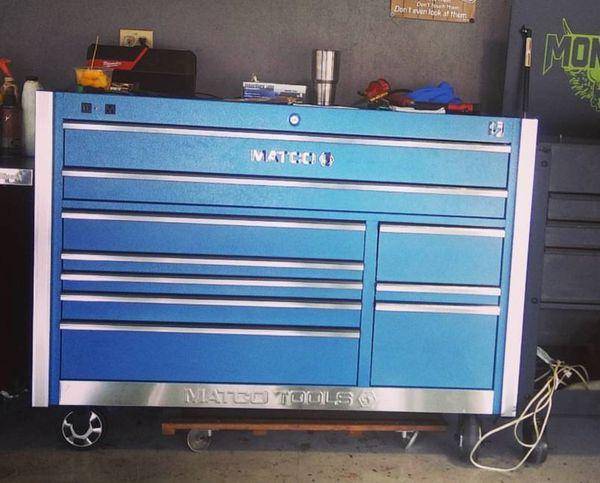 Matco 5s toolbox