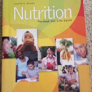 Nutrition Through the Life Cycle by Judith E. Brown for Sale in Lynnwood, WA